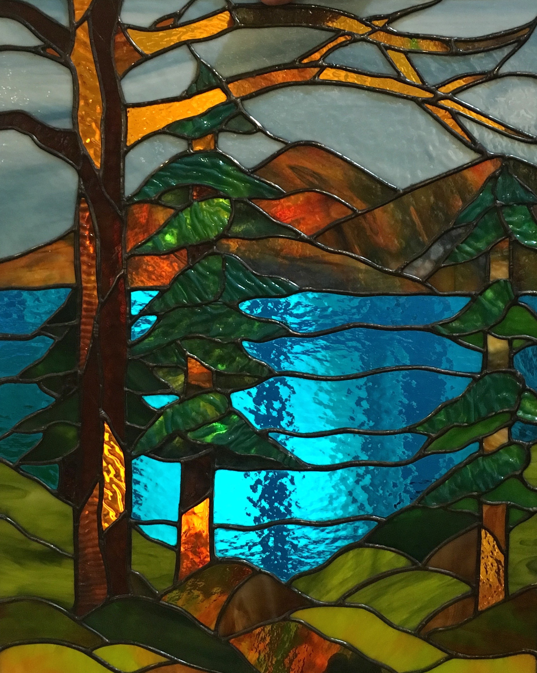 Individual Stained Glass Instruction On Wednesdays